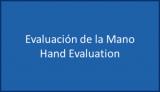 evaluacion de la mano