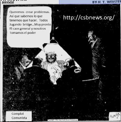 Bridge cartoon Webster comunismo