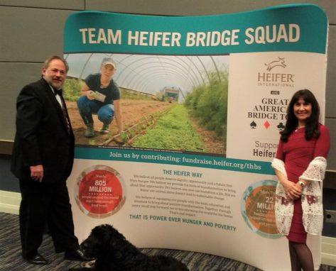 Jade Barrett heifer team