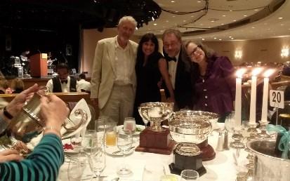 Roman Smolski, Geoffrey S. Jade Barrett y Karen Lee Barrett.