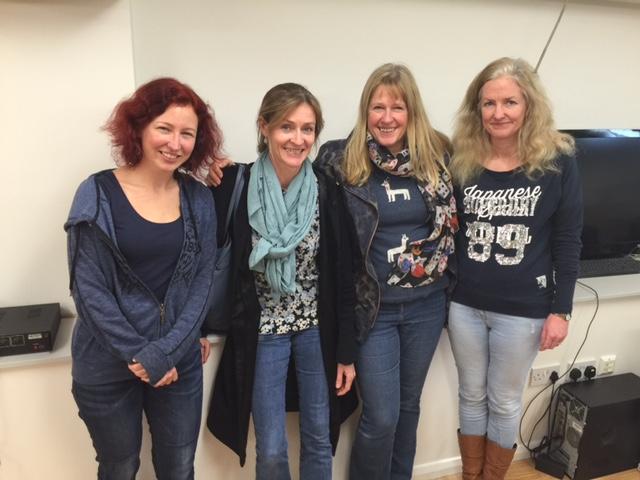 Top 2 Pairs - Fiona Brown & Helen Erichsen, Christine Jepson & Catherine Curtis