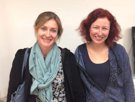 Winners - Helen Erichsen & Fiona Brown