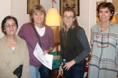 MariaCarmen Babot, Nuria Almirall, Tania Villalonga y Marta Almirall