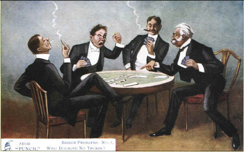 bridge cartoon who doubled