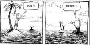 Cartoon tierra bote