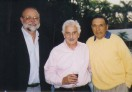 Jerry with Zeke Jabbour and Eddie Kantar in Cuernavaca Mexico