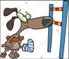 cartoon weak jump