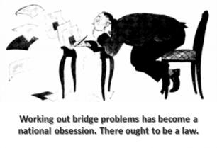 bridge cartoon obsession