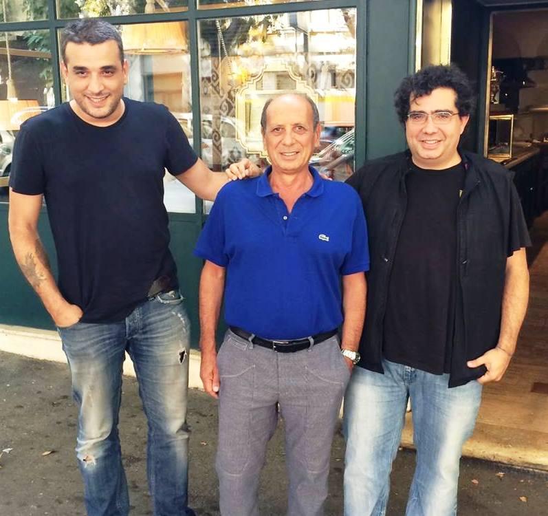Mustafa Cem Tokay, Lorenzo Lauria and Alfredo Versace