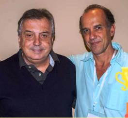 Eduardo Barcellos y Maurizio Machado