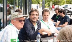 Mustafa Cem Tokay y Frederic Volcker.