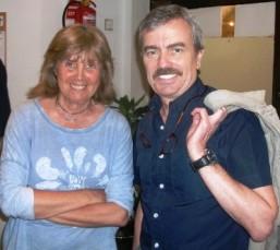 Nuria Almirall y Amadeo Llopart