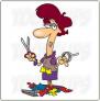 Cartoon scissors