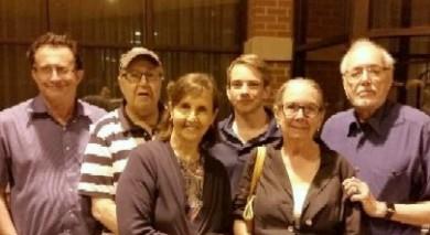 Tod Moses, Bill Doroshow, Karen Walker,Nate Ward, Nancy & Alan Popkin