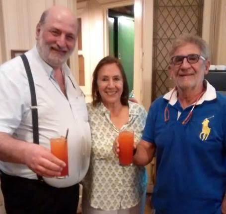 Ricardo Poleschi, Myrta di Pietro y Sergio Durante