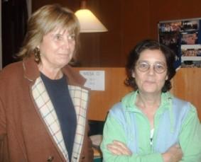 Nuria Almirall y Mari Carmen Babot
