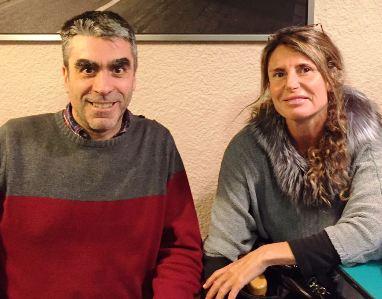 Jaime Pons y Bertha Martinez