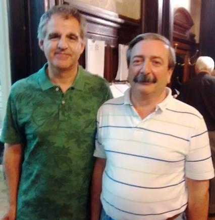 Guillermo Bianchi y Jorge Guaita