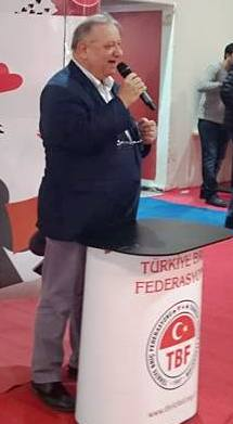 Nafiz Zorlu, newPresident of the Turkish Bridge Federation