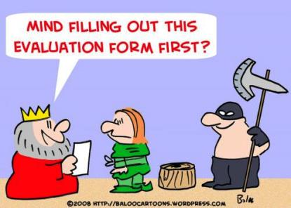 evaluation cartoon