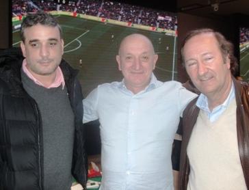 Mustafa Tokay, Giuseppe Failla y Juan Carlos Ventin