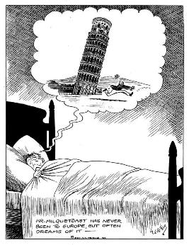 cartoon Casper Milquetoast