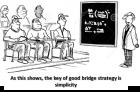 bridge cartoon strategy