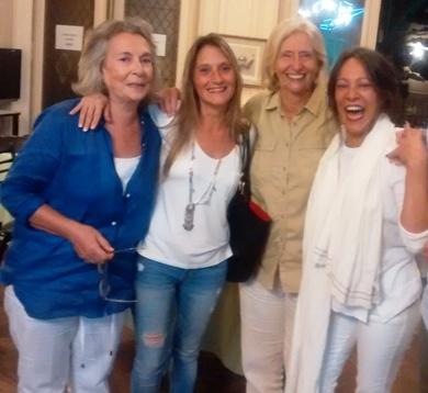 Charo Garateguy, Florencia Attaguile, Malena Iacapraro e Isolda Tamae