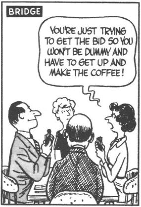 bridge cartoon coffee