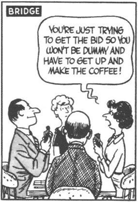 bridge cartoon coffee