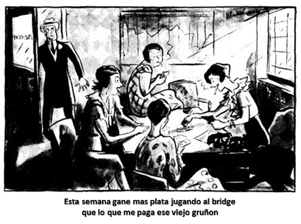 bridge cartoon money esp
