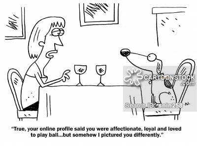 Online dating.