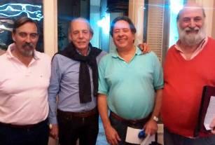 Finalistas: Marcelo Villegas, Walter Fornasari, Ricardo Angeleri y Ricardo Poleschi