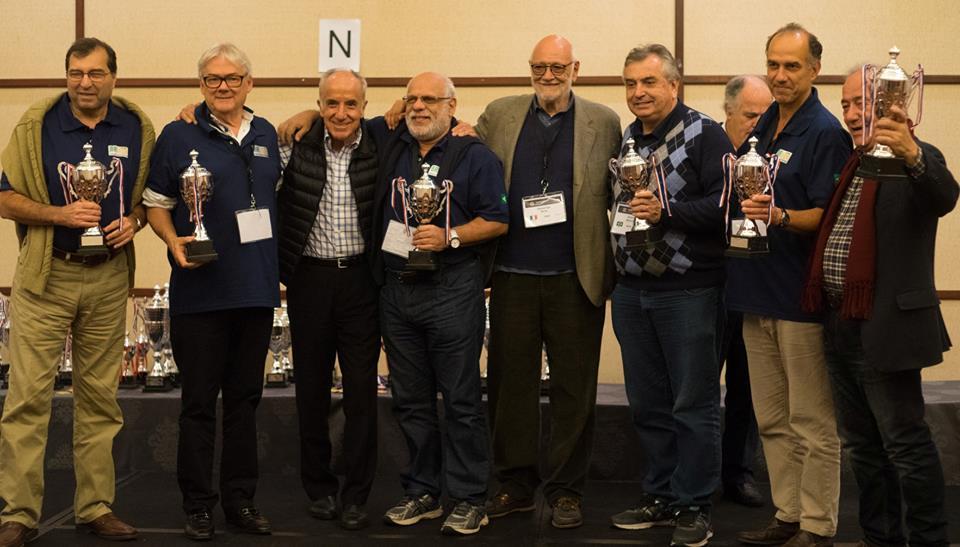 Milton Aloi, Rafael Amoedo, Amilcar Magalhaes, Gianarrigo Rona (ITA), Eduardo Barcellos Mauricio Machado y Joao de Deud Silva y Neto