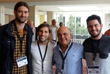 Ramon Gomez, Pedro Gonçalves, Gabriel Chagas y Rafael Duque