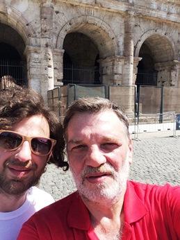 Robin Fellus y Fernando Lema