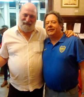 Ricardo Poleschi y Ricardo Angeleri
