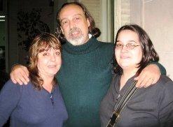 Silvia Girosi, Gerardo Nuñez y Josefina Bello