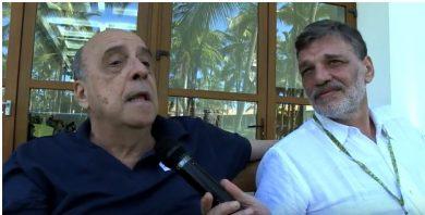 Marcelo Castello Branco y Fernando Lema