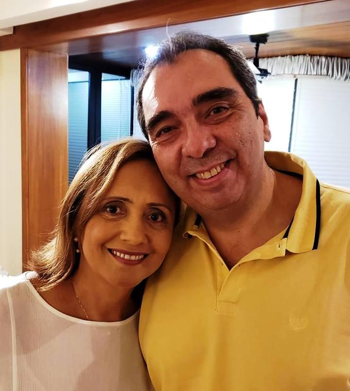 Maria Teresa Falk y Renato Fernandes